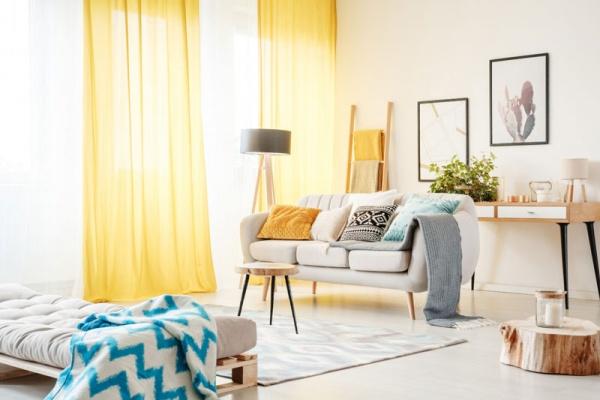 mejores telas para las cortinas de tu hogar